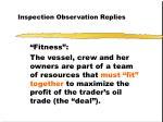 inspection observation replies7