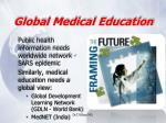 global medical education