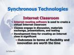 synchronous technologies