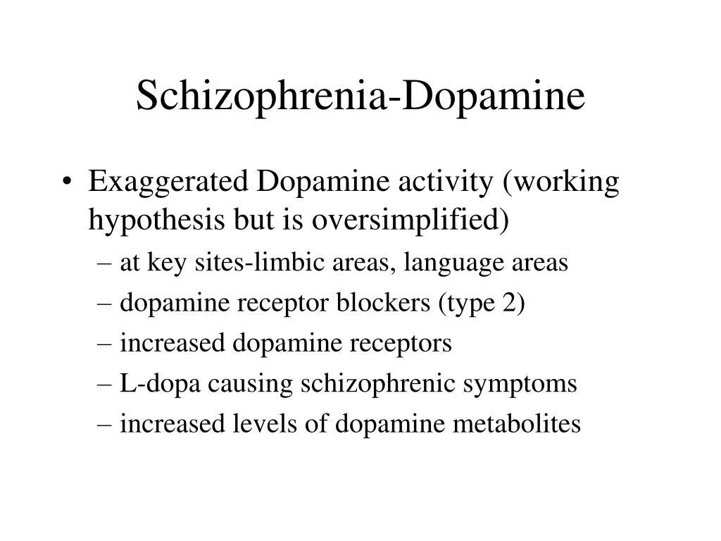 Schizophrenia-Dopamine