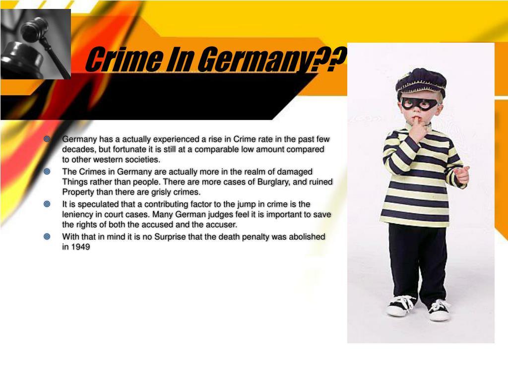 Crime In Germany??