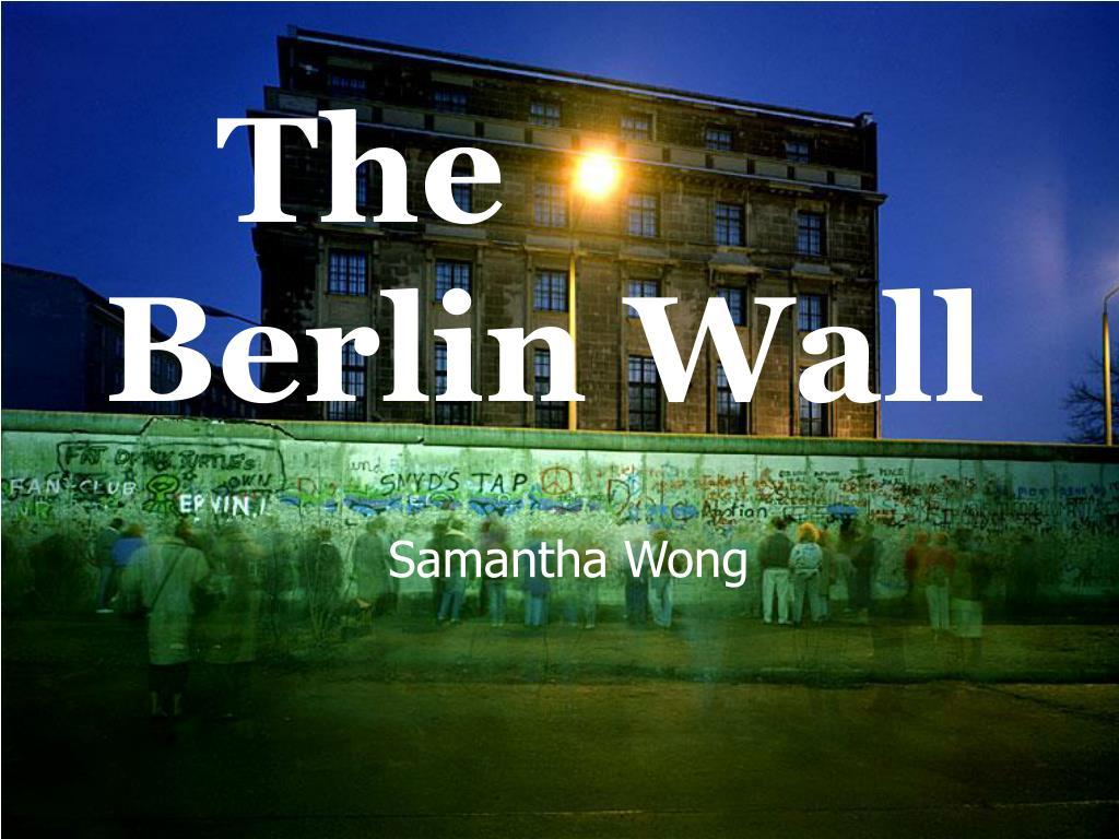 the berlin wall l.