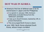 hot war in korea33