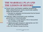 the marshall plan and the lesson of history15