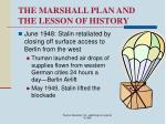 the marshall plan and the lesson of history18