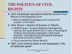 the politics of civil rights65