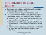 the politics of civil rights67