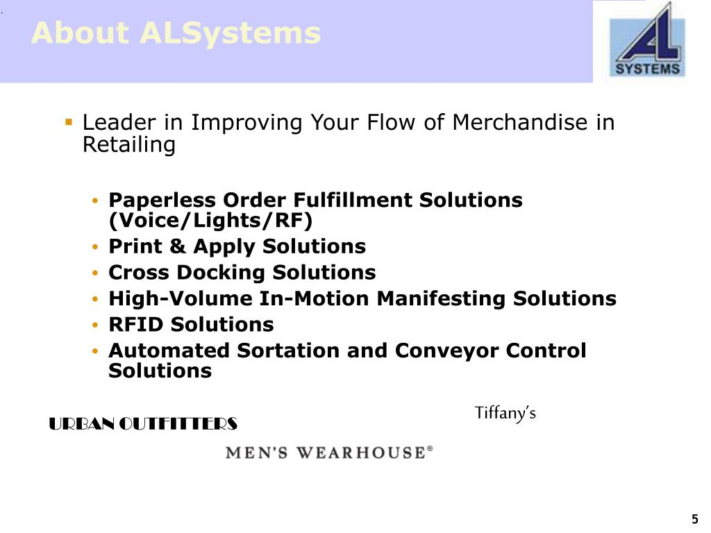 About ALSystems