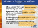 advantages of combined heat and power chp