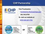 chp partnership