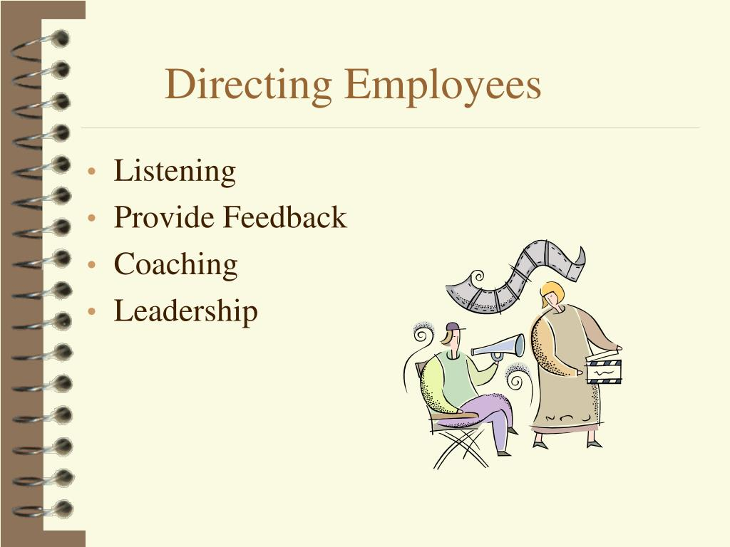 Directing Employees
