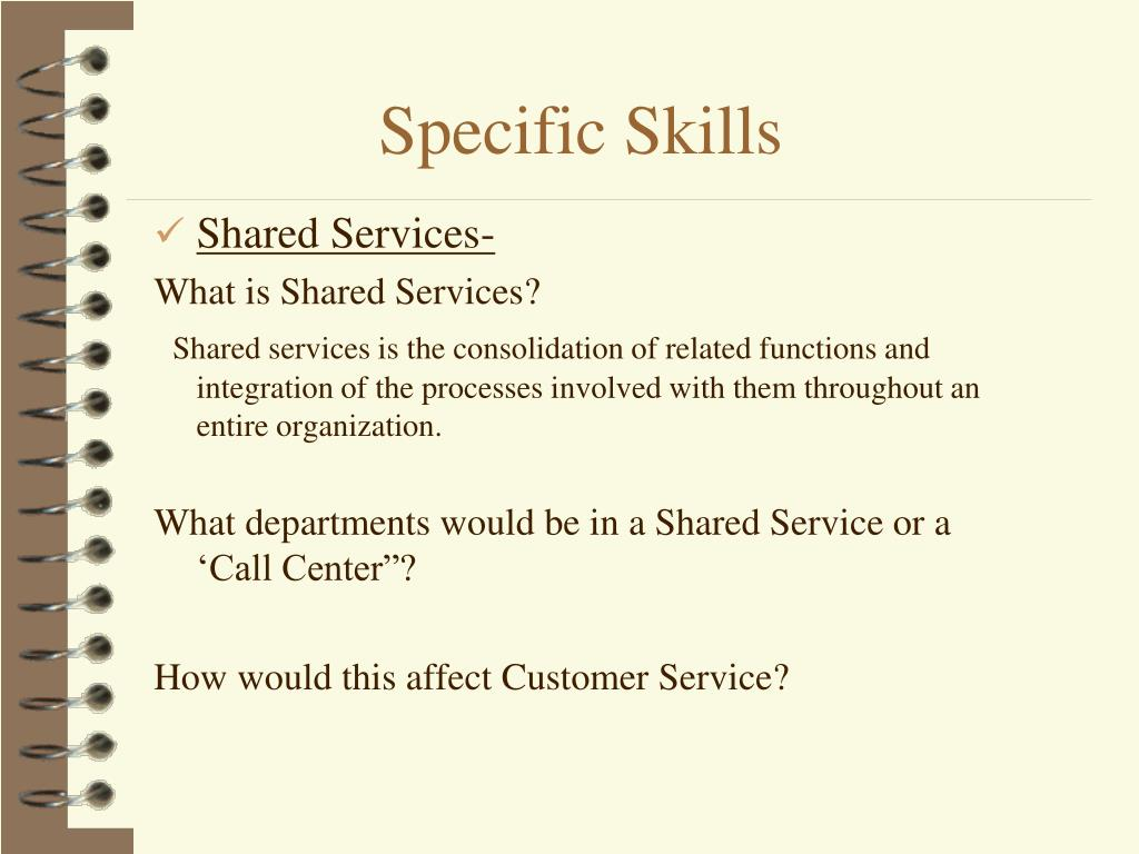 Shared Services-