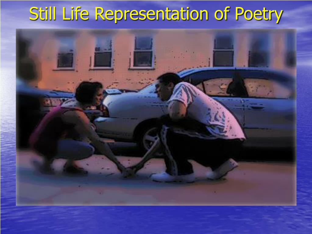 Still Life Representation of Poetry