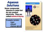 aqueous solutions7