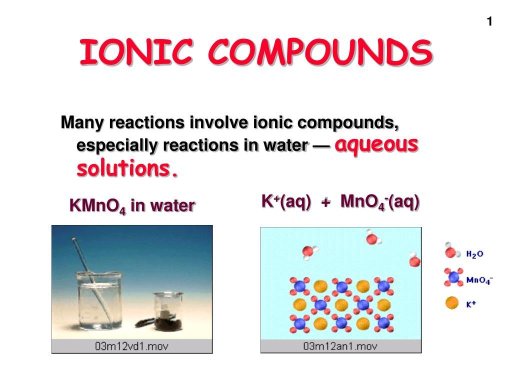 ionic compounds l.