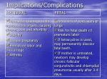 implications complications35