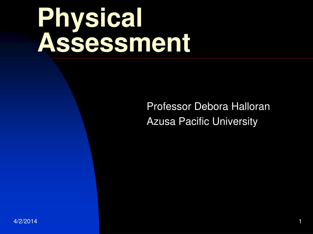 physical assessment l.