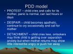pdd model