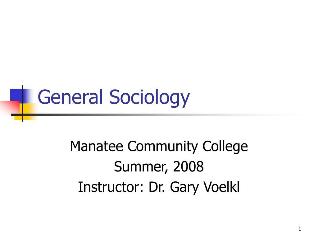 general sociology l.