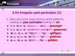 5 54 irregular past participles 2