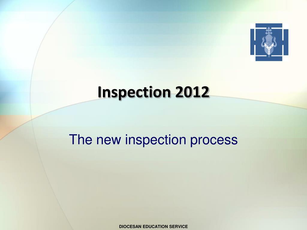 inspection 2012 l.