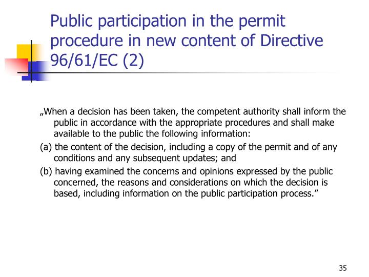 public participation in law making process Public policy in some countries public participation has become a central principle of public policy making in the uk it has been observed that all levels of government have started to build citizen and stakeholder engagement into their policy-making processes.