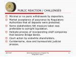 p public reaction challenges