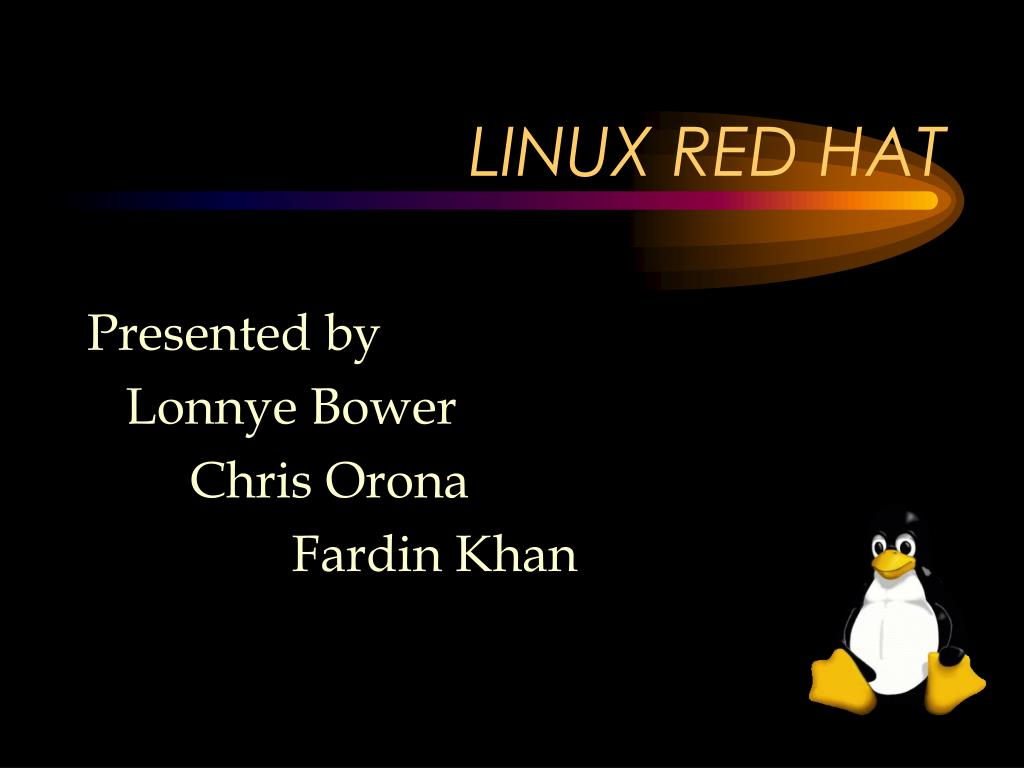 linux red hat l.