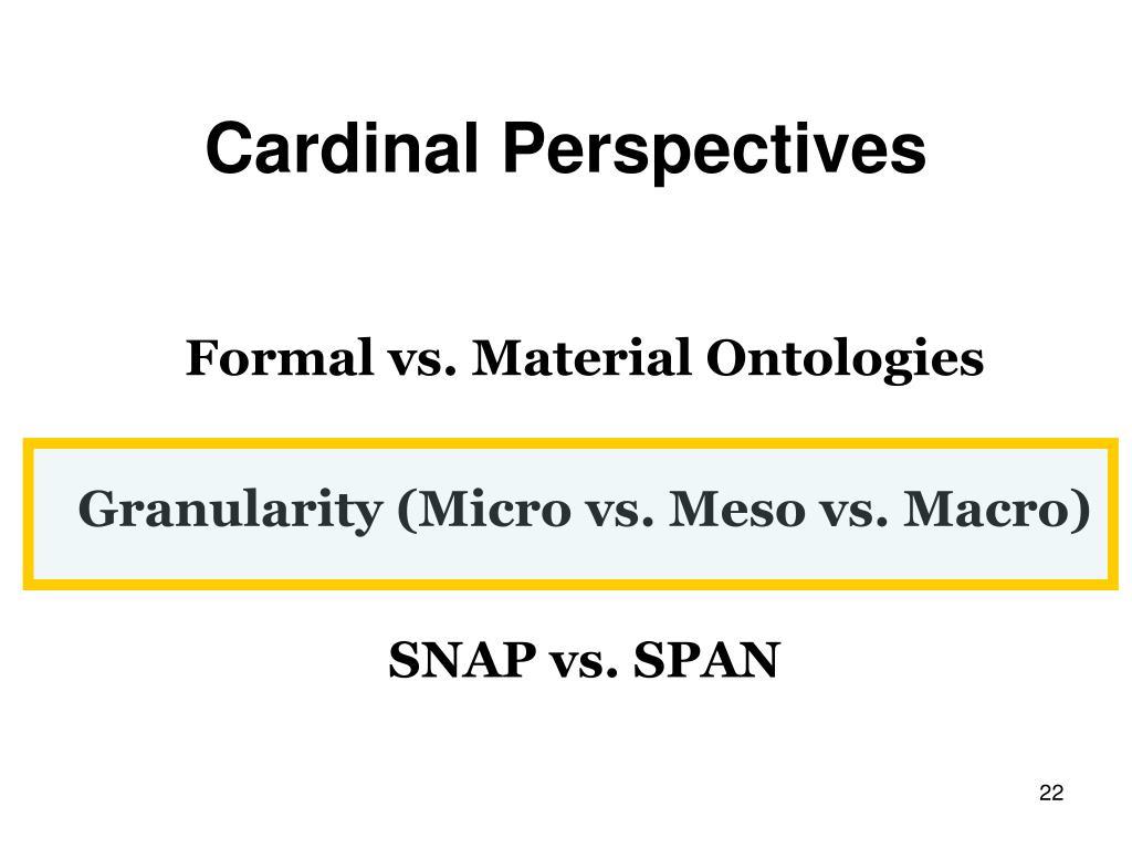 Cardinal Perspectives