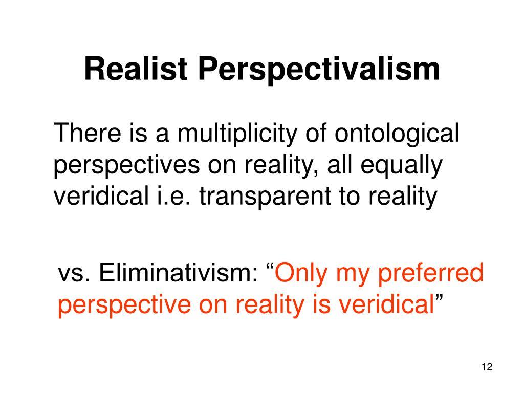 Realist Perspectivalism