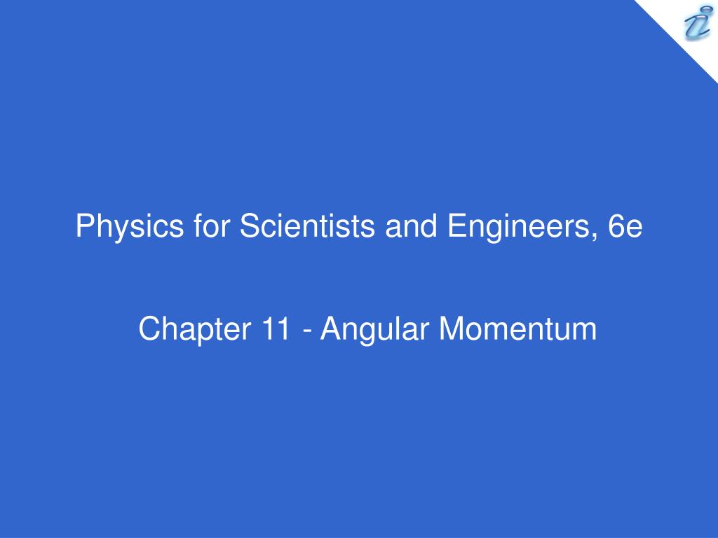 physics for scientists and engineers 6e l.