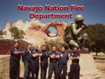 navajo nation fire department