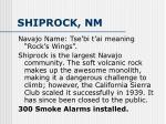 shiprock nm