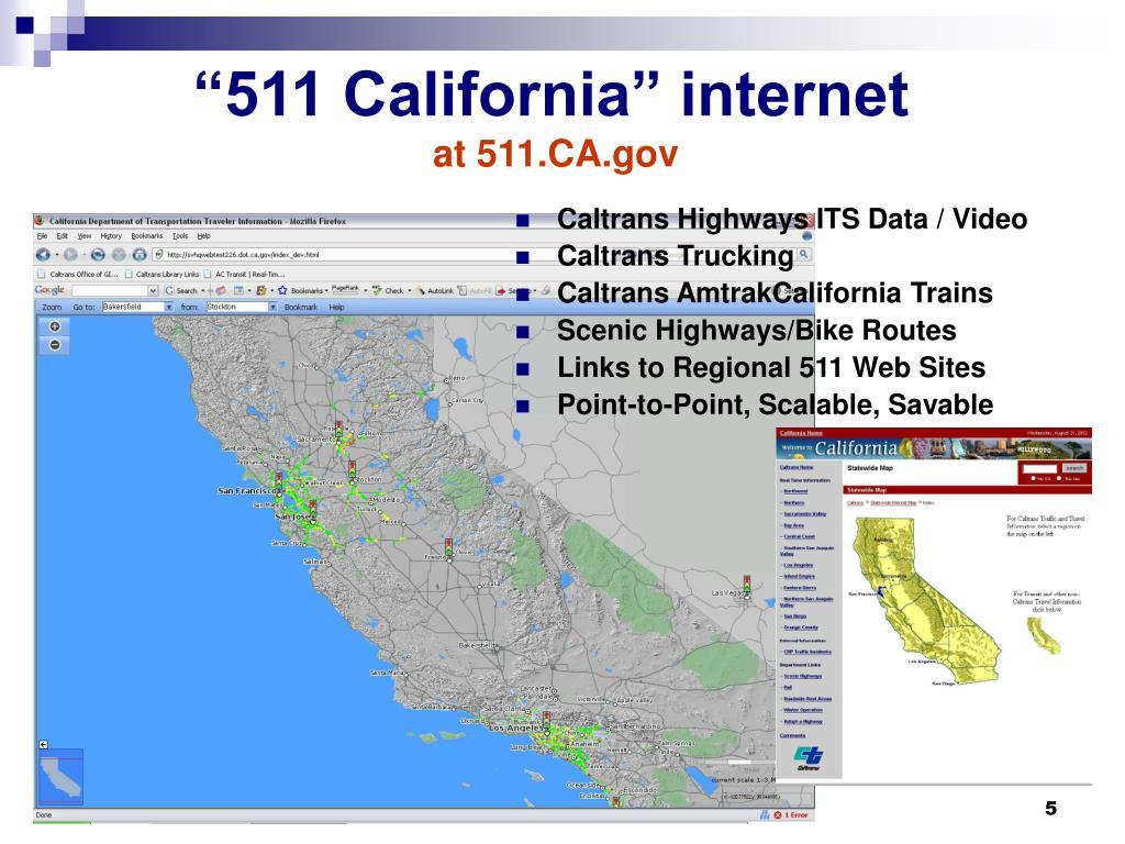 """511 California"" internet"