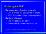 monitoring the mlf