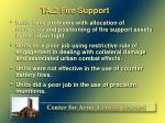 ta 2 fire support