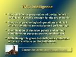 ta 5 intelligence