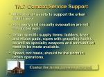 ta 7 combat service support