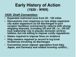 early history of action 1920 wwii6