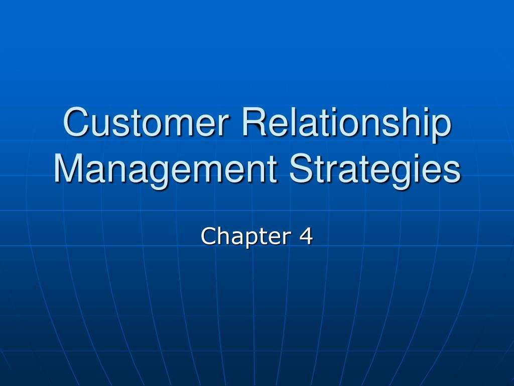 customer relationship management strategies l.