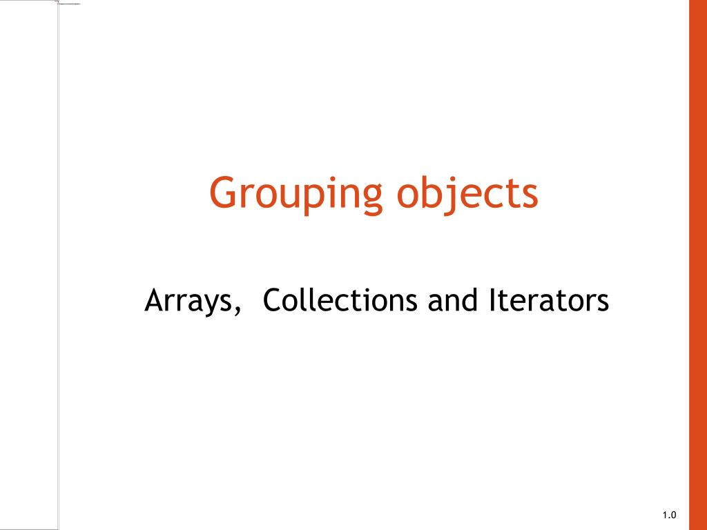 grouping objects l.