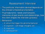 assessment interview4