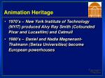 animation heritage38