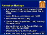 animation heritage41