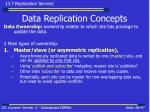 data replication concepts38