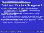 distributed deadlock management20