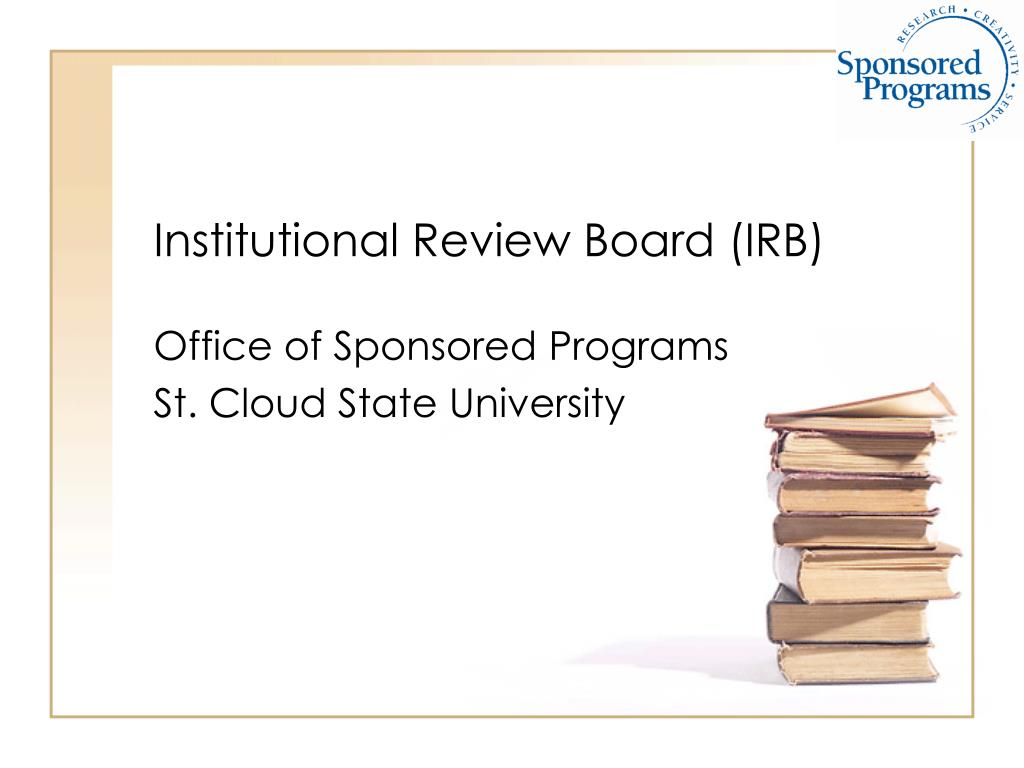 institutional review board irb l.