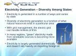 electricity generation diversity among states9