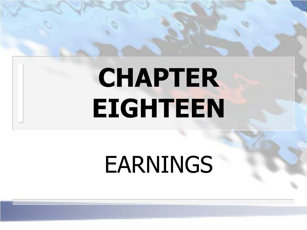 chapter eighteen l.