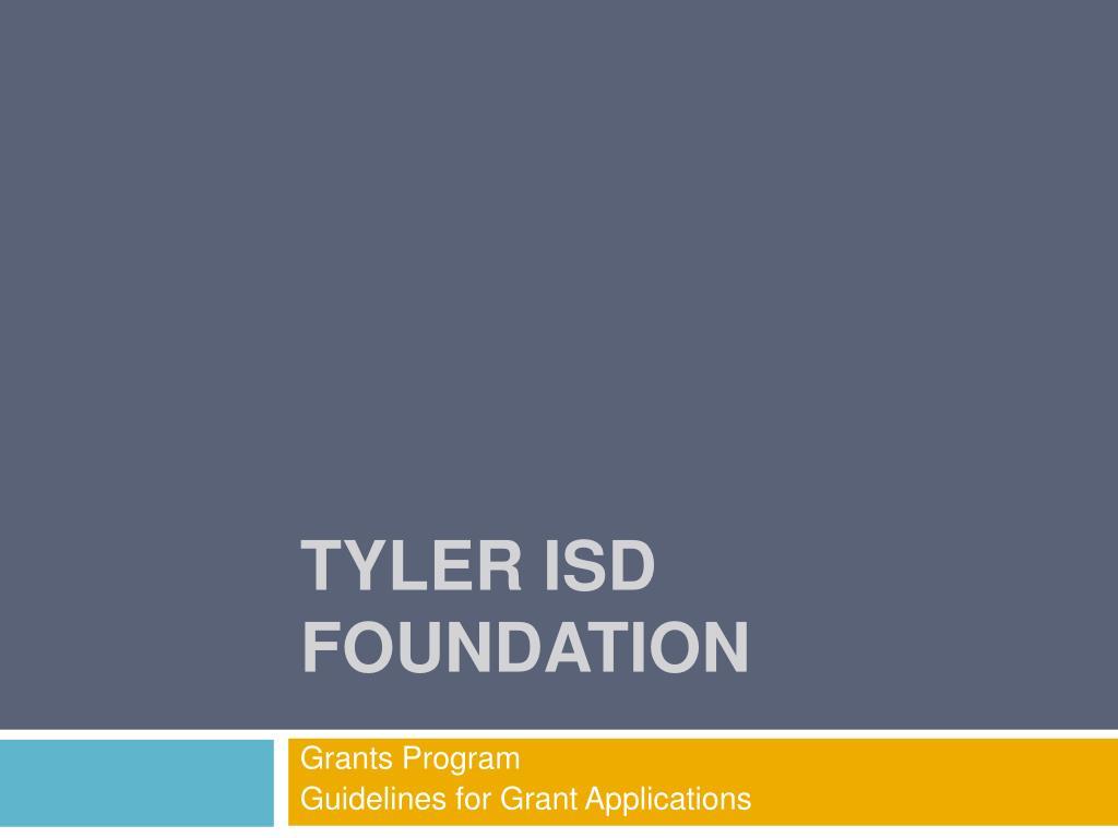 tyler isd foundation l.